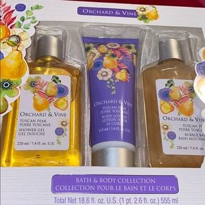 NWT orchard & Vine bath body collection